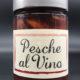 Pesche aromatizzate al vino
