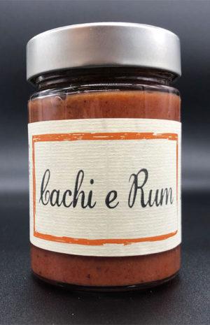 Confettura Cachi e Rum