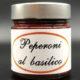 peperoni al basilico
